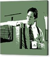 Office Space Bill Lumbergh Movie Quote Poster Series 002 Canvas Print