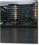 Offices In London Canvas Print