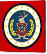 Official Odd Squad Seal Canvas Print
