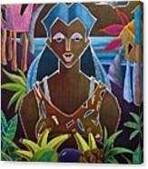 Ofrendas De Mi Tierra II Canvas Print