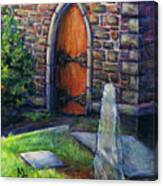 Ogham Stone Canvas Print