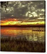 Ogi Sunset Canvas Print