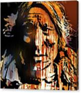 Oglala Warrior Canvas Print