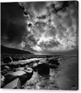 Ogmore By Sea 4 Canvas Print