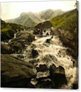 Ogwen Falls Canvas Print