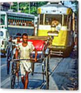 Oh Calcutta Canvas Print