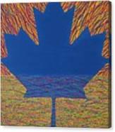 Oh Canada 2 Canvas Print