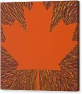 Oh Canada 5 Canvas Print