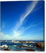 Oh The Beauty  Monterey Peninsula Ca  Canvas Print