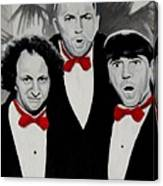 Oh Wise Guys Aye Canvas Print