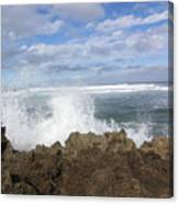 Ohau Splash Canvas Print
