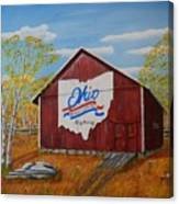 Ohio Bicentennial Barns 22 Canvas Print