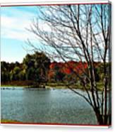 Ohio Duck Pond Canvas Print