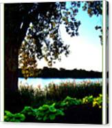 Ohio Pond Canvas Print