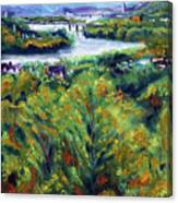 Ohio River From Ayers-limestone Road Canvas Print