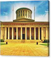 Ohio Statehouse Canvas Print