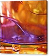 Oil And Water 14 Canvas Print