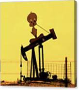 Oil Baron Tweety Canvas Print