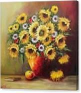 Oil Msc 055 Canvas Print