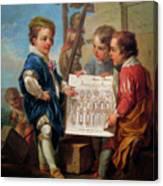 Oil On Canvas Canvas Print