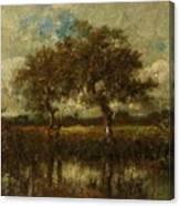 Oil Painting Landscape Canvas Print