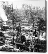 Oil: Pennsylvania, 1863 Canvas Print