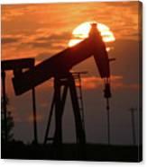 Oil Pump Jack 7 Canvas Print