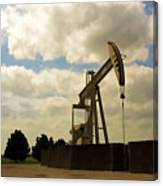 Oil Pumpjack Canvas Print