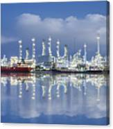 Oil Refinery Industry Plant Canvas Print