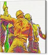 Oil Rig Workers 5 Canvas Print
