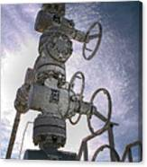 West Texas Oil Well #1 Canvas Print