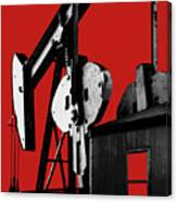 Oil Well Pump #4 Canvas Print