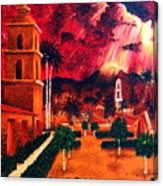 Ojai Red I Canvas Print