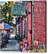 Ok Bicycle Bike Canvas Print