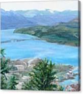 Okanagan Blue Canvas Print