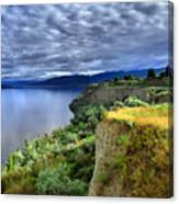 Okanagan Lake On A Thursday Canvas Print