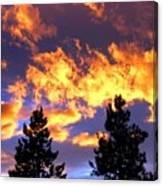 Okanagan Sunset Canvas Print
