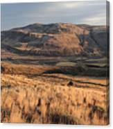 Okanagan Valley Sunset Glow Canvas Print