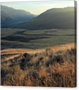 Okanagan Valley Warm Glow Canvas Print