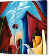 O'keeffe's Toronto Canvas Print