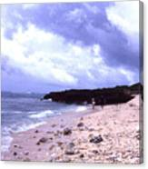 Okinawa Beach 15 Canvas Print