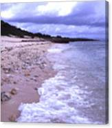 Okinawa Beach 17 Canvas Print