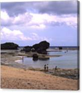 Okinawa Beach 3 Canvas Print