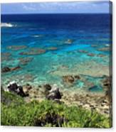 Okinawa Blue Ocean Canvas Print