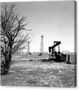 Oklahoma Oil Field Canvas Print