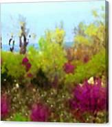 Oklahoma Spring Colors Canvas Print