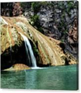 Oklahoma's Turner Falls Canvas Print