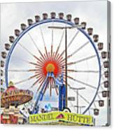 Oktoberfest 2010 Munich Canvas Print