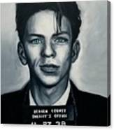 Ol' Blue Eyes Canvas Print