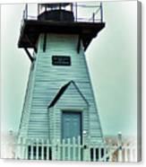 Olcott Lighthouse Canvas Print